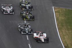 Tristan Vautier, Dale Coyne Racing Honda Josef Newgarden, Team Penske Chevrolet