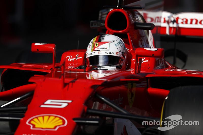 #5 Sebastian Vettel, Ferrari SF70H