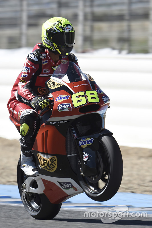 Now Agr Las Vegas Can Read Your Future With Zoltar: Yonny Hernandez, AGR Team At Jerez March Testing