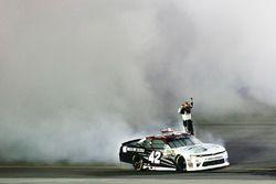 Race winner Tyler Reddick, Chip Ganassi Racing Chevrolet