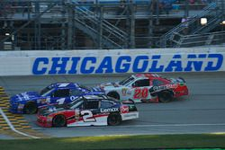 Elliott Sadler, JR Motorsports Chevrolet, Austin Dillon, Richard Childress Racing Chevrolet, Erik Jones, Joe Gibbs Racing Toyota