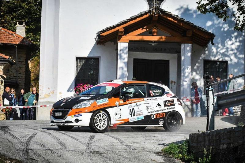 Jonathan Michellod, Stéphane Fellay, Peugeot 208 R2, Atelier de la Tzoumaz