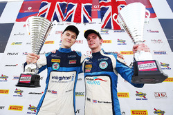 GT4 winners #55 HHC Motorsport Ginetta G55 GT4: Stuart Middleton, William Tregurtha