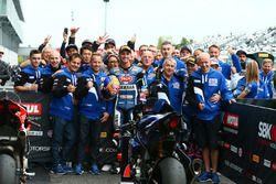 3. Michael van der Mark, Pata Yamaha, 2. Alex Lowes, Pata Yamaha takım ile