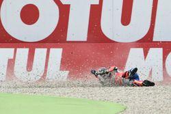 Scott Redding, Pramac Racing, crash