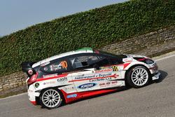 Manuel Sossella, Gabriele Falzone, Ford Fiesta WRC