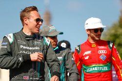 Adam Carroll, Jaguar Racing; Daniel Abt, ABT Schaeffler Audi Sport