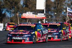Jamie Whincup, Triple Eight Race Engineering, Holden; Shane van Gisbergen, Triple Eight Race Enginee