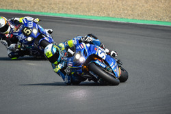 #1 Suzuki Endurance Racing Team, Suzuki GSXR-1000: Vincent Philippe, Alex Cudlin, Etienne Masson