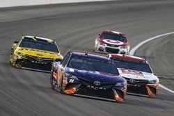 Denny Hamlin, Joe Gibbs Racing Toyota, Matt Kenseth, Joe Gibbs Racing Toyota, Daniel Suarez, Joe Gib