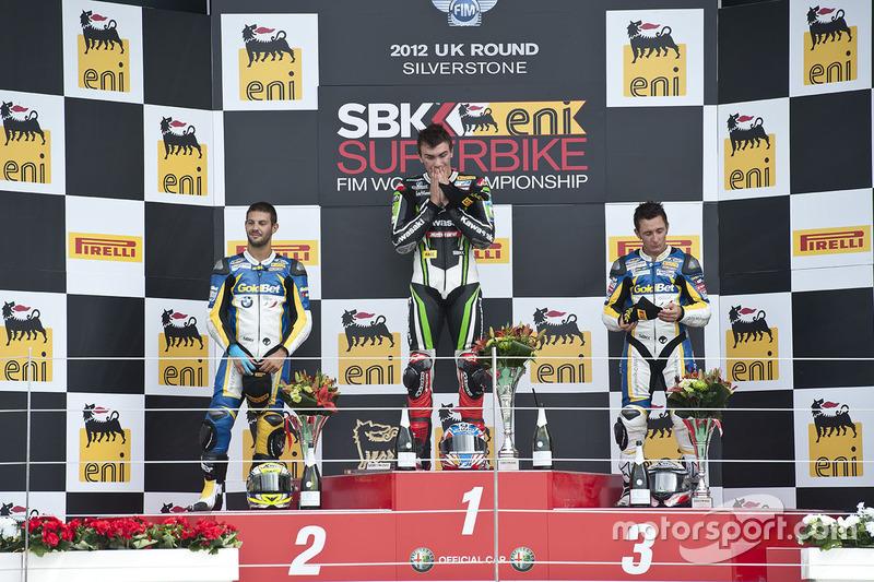 Loris Baz, Kawasaki Racing, ganador Silverstone, 2012