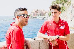 Antonio Fuoco, PREMA Powerteam and Charles Leclerc, PREMA Powerteam