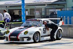 ANSA Motorsports Porsche, Eric Johnson, Ernie Francis Jr.