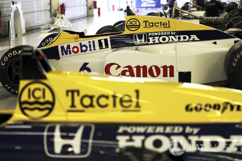 Williams FW10 Honda 1985 Кеке Росберга