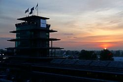 Sonnenaufgang am Indianapolis Motor Speedway