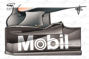 McLaren MP4-29 front wing endplate