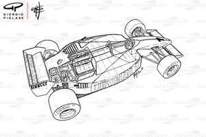 Brabham BT55 3/4 detalle
