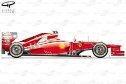 DUPLICATE: Ferrari F2012 side view