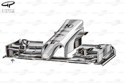 DUPLICATA : L'aileron avant de la McLaren MP4-29
