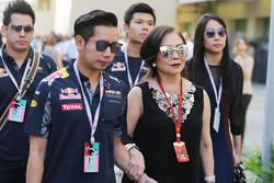 Daranee Yoovidhya, Red Bull Racing Co-Owner und Vorayuth Yoovidhya