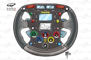 Ferrari F399 steering wheel