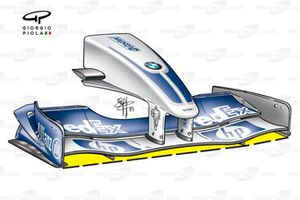 Williams FW25 2003 front wing