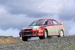 Tommi Mäkinen, Risto Mannisenmaki, Ralliart Mitsubishi Lancer Evo6