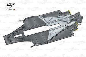 McLaren MP4-14 1999 floor