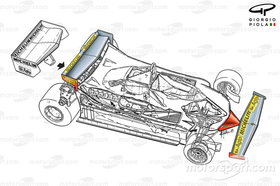 Modifikasi Ferrari 312T4, GP Monako 1979