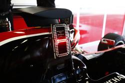 Sistema de visualización de posición de carrera en el coche de Jack Aitken, ART Grand Prix