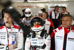 Neel Jani, Porsche Team and Fritz Enzinger, Director LMP1 Porsche Team
