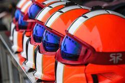AVF team members helmets