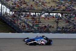 Tony Kanaan, Chip Ganassi Racing Honda, Ed Jones, Dale Coyne Racing Honda