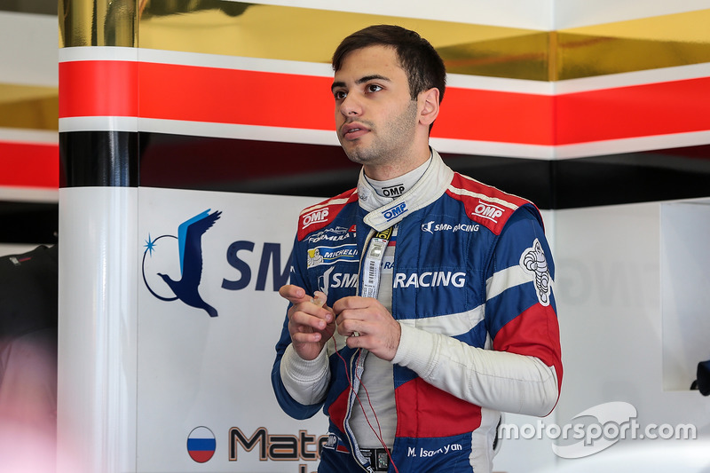Российские гонщики: Матевос Исаакян