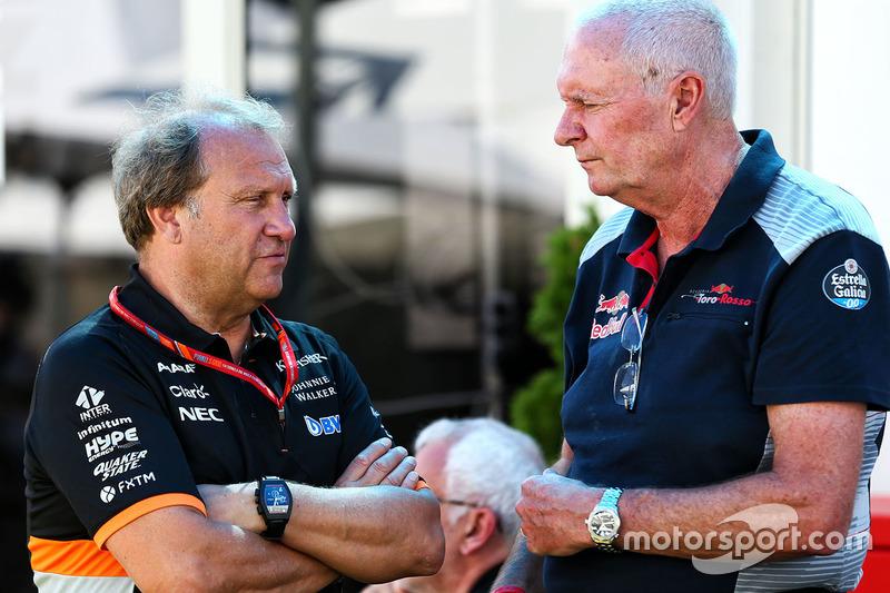 Robert Fernley, Sahara Force India F1 Subdirector de equipo equipo con John Booth, Scuderia Toro Rosso Director de carreras