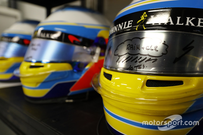 Casco di Fernando Alonso, McLaren