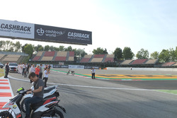 Chicane at Barcelona track