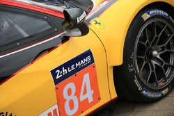 #84 JMW Motorsport Ferrari 488 GTE detail