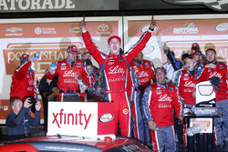Ryan Reed, Roush Fenway Racing Ford celebrates in Victory Lane