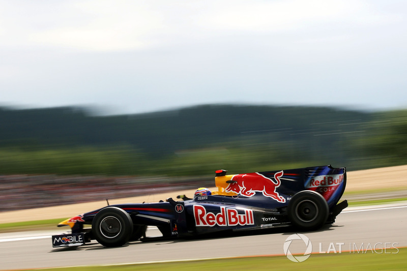 2009: Winner Mark Webber, Red Bull Racing RB5