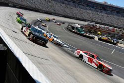 Ryan Preece, Joe Gibbs Racing, Toyota Camry Rheem and Shane Lee, Richard Childress Racing, Chevrolet Camaro Childress Vineyards