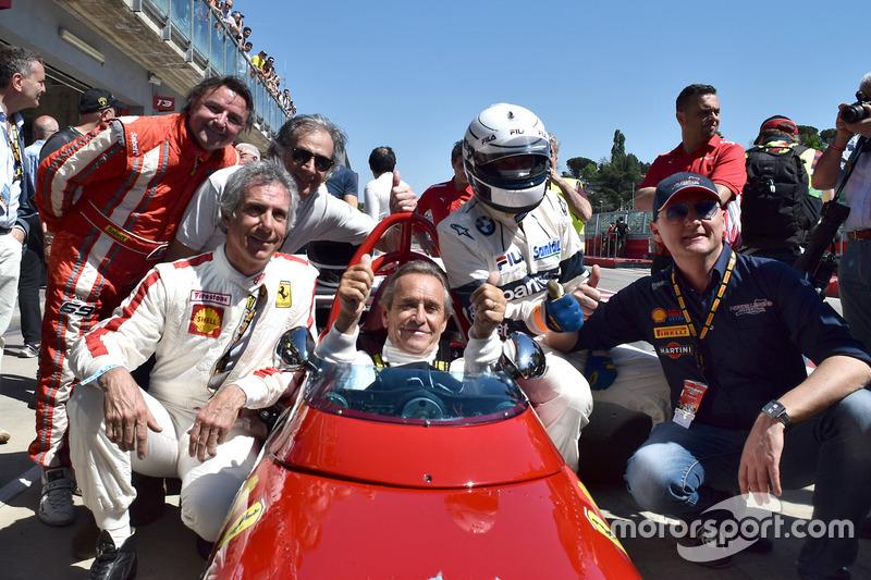 Жаки Икс, Ferrari 312 B, Рене Арну, Риккардо Патрезе