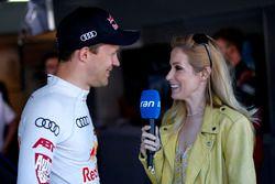 Mattias Ekström, Audi Sport Team Abt Sportsline with Andrea Kaiser, Sat1-TV