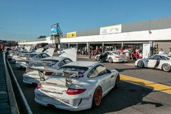 Los autos de la Porsche GT3 Cup Trophy Argentina