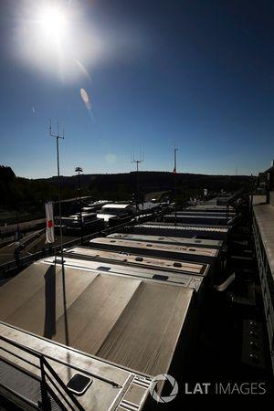 WEC Paddock at Spa Francorchamps