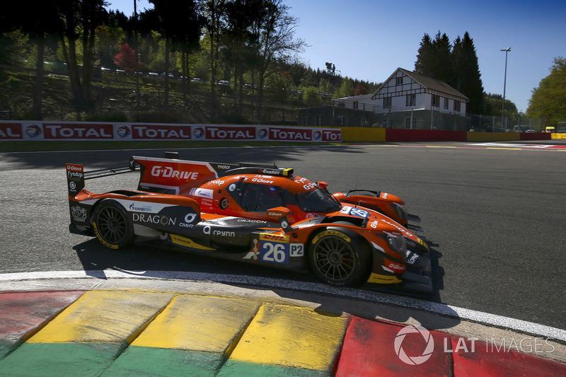 #26 G-Drive Racing Oreca 07: Roman Rusinov, Jean-Eric Vergne, Andrea Pizzitola