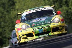 Лукас Лур, Тимо Бернхард, Майк Роккенфеллер, Марсель Тиман, Manthey Racing, Porsche 996 GT3-MR (№28)