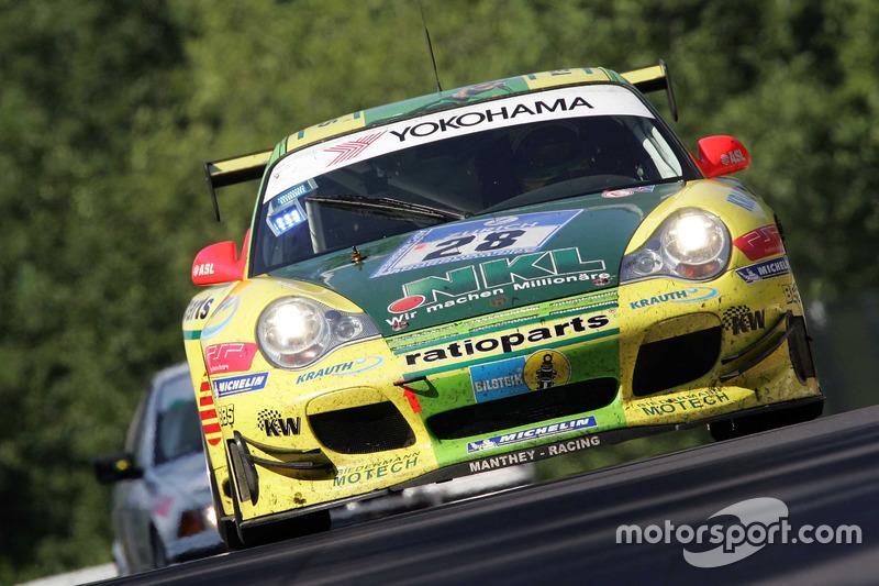 2006: Lucas Luhr, Timo Bernhard, Mike Rockenfeller, Marcel Tiemann (Porsche 996 GT3-MR)