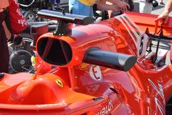 Boîte à air de la Ferrari SF71H