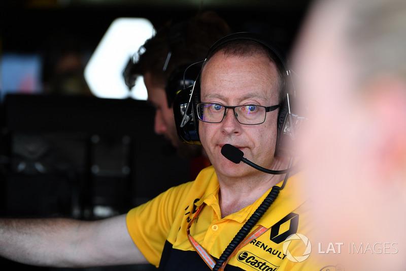 Mark Slade, Renault Sport F1 Team Engineer